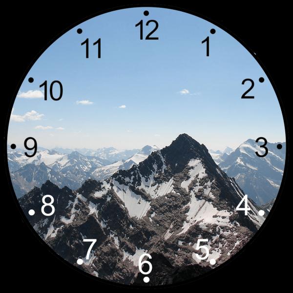 Fata ceas munte