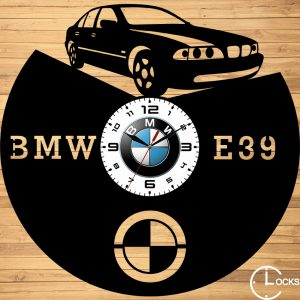 CEAS DE PERETE DIN LEMN NEGRU BMW E39 Clocks Design