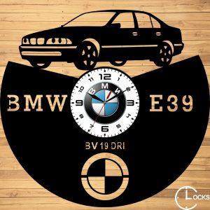 CEAS DE PERETE DIN LEMN NEGRU BMW E39 525 Clocks Design