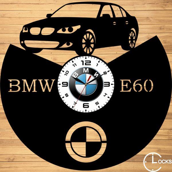CEAS DE PERETE DIN LEMN NEGRU BMW E60 Clocks Design