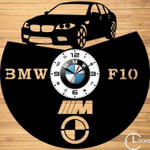 CEAS DE PERETE DIN LEMN NEGRU BMW F10 - 2015 Clocks Design