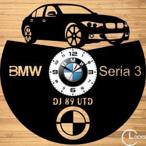 CEAS DE PERETE DIN LEMN NEGRU BMW SERIA 3 F30 2014 Clocks Design