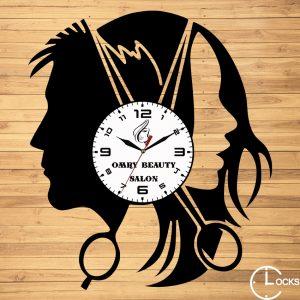 CEAS DE PERETE DIN LEMN NEGRU COAFOR Clocks Design
