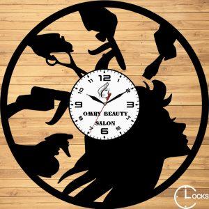 CEAS DE PERETE DIN LEMN NEGRU COAFOR m2 Clocks Design