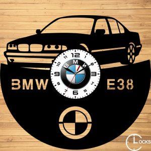 CEAS DE PERETE DIN LEMN NEGRU BMW E38 Clocks Design