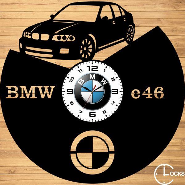 CEAS DE PERETE DIN LEMN NEGRU BMW E46 Clocks Design