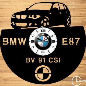 CEAS DE PERETE DIN LEMN NEGRU BMW E87 Clocks Design