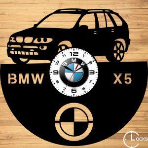 CEAS DE PERETE DIN LEMN NEGRU BMW X5 Clocks Design