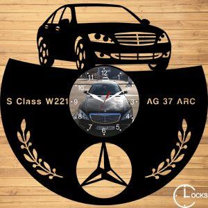 CEAS DE PERETE DIN LEMN NEGRU MECREDES S CLASS W221 Clocks Design