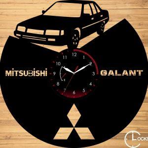 CEAS DE PERETE DIN LEMN NEGRU MITSUBISHI GALANT V 1983 Clocks Design