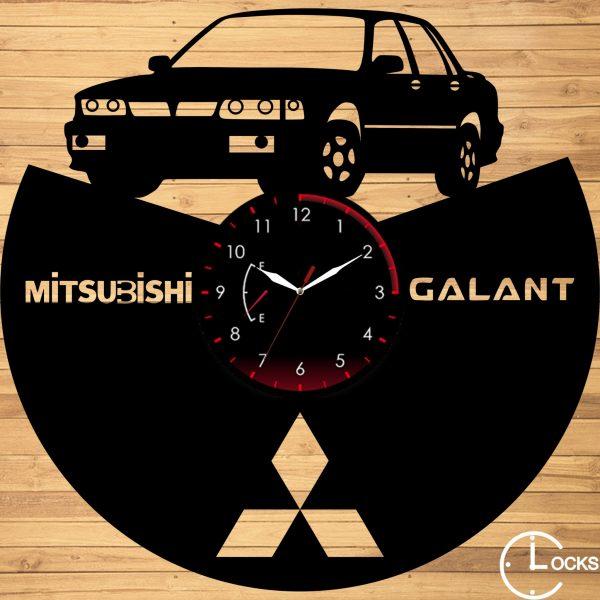 CEAS DE PERETE DIN LEMN NEGRU MITSUBISHI GALANT V 1990 Clocks Design