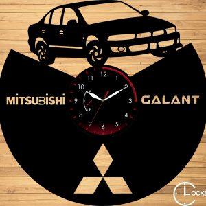 Ceas de perete din lemn negru Mitsubishi Galant v 2002 Clocks Design